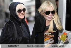 Debbie Harry (66 Years Old) Totally Looks Like Lindsay Lohan (25 Years Old)