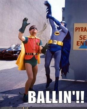BALLIN'!!