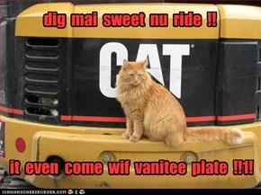 dig  mai  sweet  nu  ride  !!