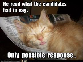 Lolcats: Politicz R Boring!