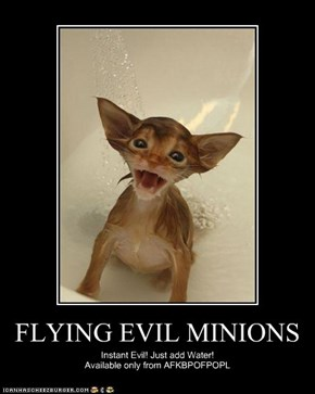 FLYING EVIL MINIONS