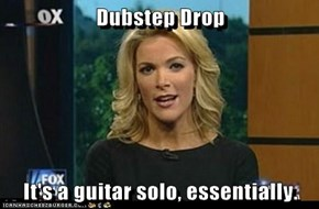 Dubstep Drop  It's a guitar solo, essentially.