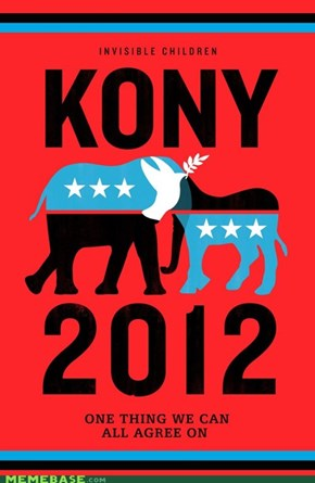 KONY 2012 SPREAD THE WORD