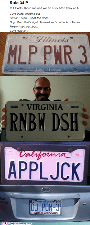 The license plates are now 20% cooler!