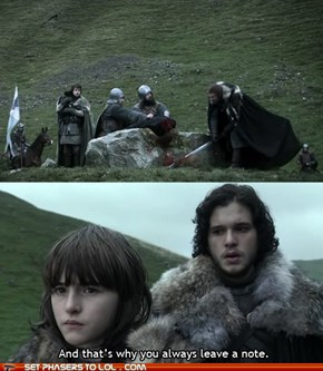 Jon Snow's Lessons