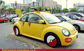 Riding in My Pikachu, Getting All the Ladies
