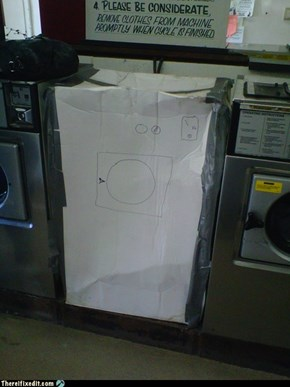 Remove Washing Machine From Box Before Removing Clothes From Machine