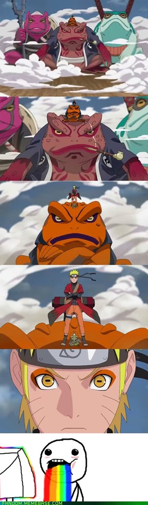 Narutos epic entry
