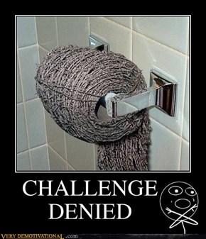 CHALLENGE DENIED