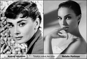 Audrey Hepburn Totally Looks Like Natalie Portman