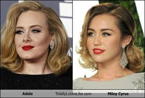 Adele Totally Looks Like Miley Cyrus