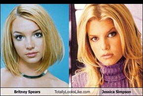 Britney Spears Totally Looks Like Jessica Simpson
