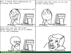 Memebase Mod Logic