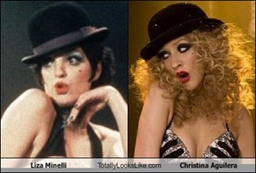 Liza Minelli  Totally Looks Like Christina Aguilera
