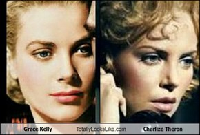 Grace Kelly Totally Looks Like Charlize Theron