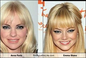 Anna Faris Totally Looks Like Emma Stone