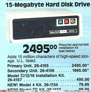 15 Mb For Just $2495?  Great Deal!