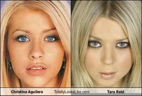 Christina Aguilera Totally Looks Like Tara Reid