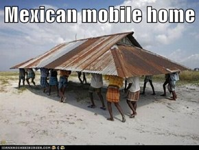 Mexican mobile home