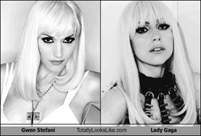 Gwen Stefani Totally Looks Like Lady Gaga
