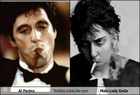 Al Pacino Totally Looks Like Male Lady GaGa