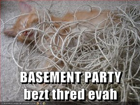 BASEMENT PARTY           bezt thred evah