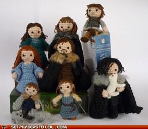Cuddly Starks