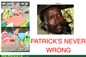 KONY 2012? Patrick Did It Back in 2011