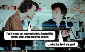Sherlock Gets A Visitor