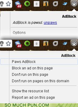 AdBlock is a puppy!