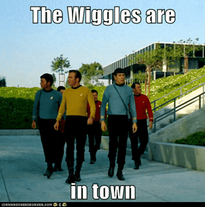 The Wiggles are  in town