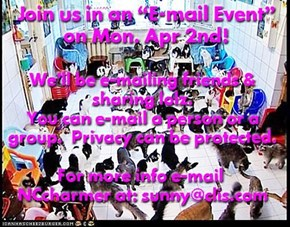"Join in the ""E-mail Event"""