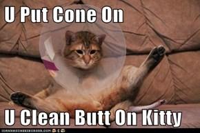 U Put Cone On