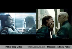 MCR's 'Sing' video Totally Looks Like This scene in Harry Potter