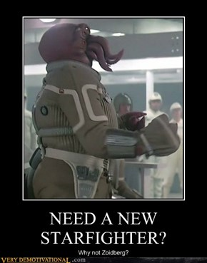 NEED A NEW STARFIGHTER?