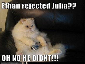 Ethan rejected Julia??  OH NO HE DIDNT!!!