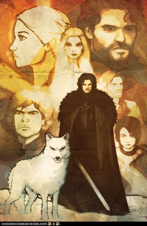 Great Game of Thrones Art