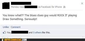 Blue Drew a Clue!