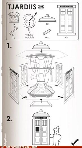 Assemble Your Ikea TARDIS