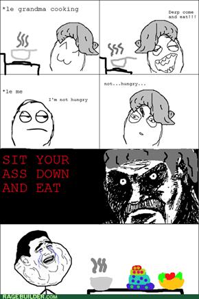 Grandma troll