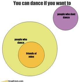 You can dance if you want to