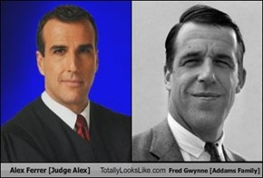 Alex Ferrer [Judge Alex] Totally Looks Like Fred Gwynne [The Munsters]