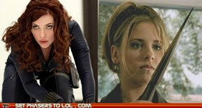 Black Widow Vs. Buffy