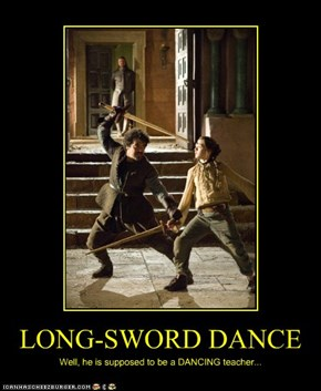 LONG-SWORD DANCE