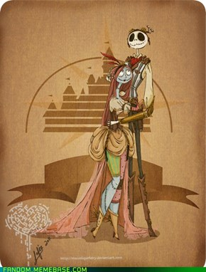 Steam Disney - Jack and Sally