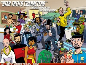 "Draw All the ""Star Trek"" Characters"