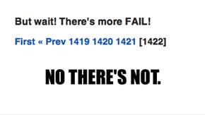 No more fail!