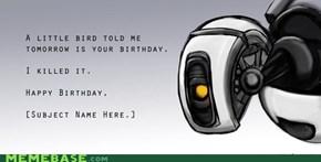 No, There's No Birthday Cake