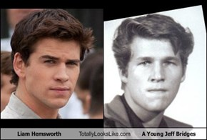 Liam Hemsworth Totally Looks Like A Young Jeff Bridges