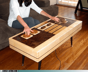 Functional Nintendo Controller Table